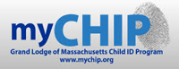 MYCHIP (Masonic Youth Child Identification Program) Logo