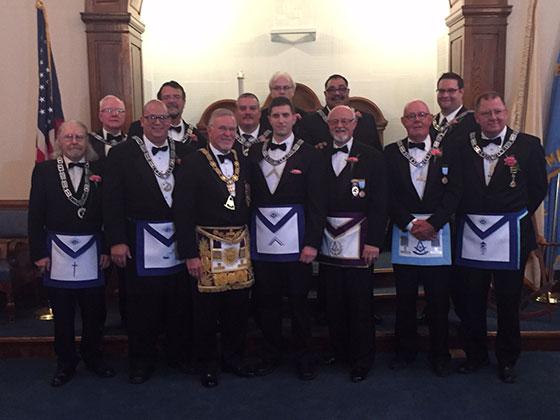 Brethren of Mount Holyoke Lodge