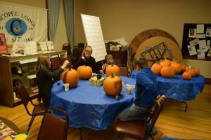 Halloween party fun at Mount Holyoke Lodge
