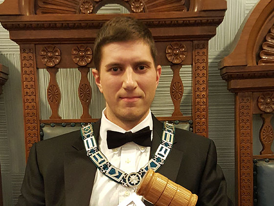 Worshipful Master William Jubinville