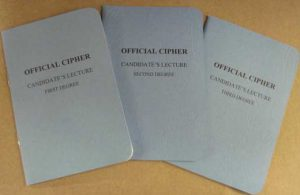 Candidate Cipher booklets